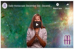 Daily Horoscope: December 3rd – December 5th, 2019