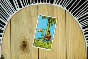 The Four of Cups Tarot Card