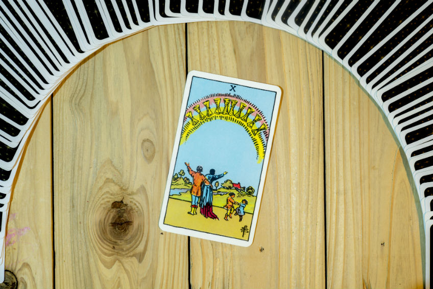 Tarot Reading: The Ten of Cups