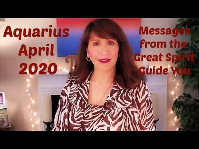 Aquarius April 2020 Astrology DEEP SHIFT Brings RELIEF & A New Start!