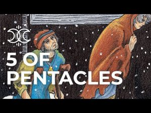 5 of Pentacles Quick Tarot Card Meanings