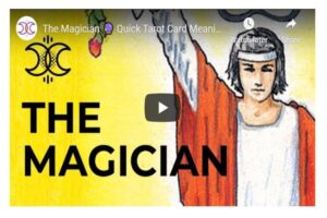 The Magician Quick Tarot Card Meanings
