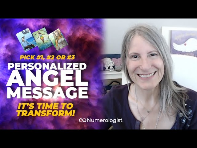 Angel Message 😇 It's Time To Transform (Personalized Angel Card Reading)