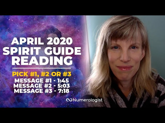 April 2020 Spirit Guide Reading: A Tremendous Opportunity To Rise Up!