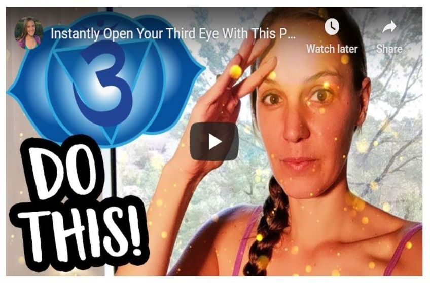 Instantly Open Your Third Eye With This Powerful 3rd Eye Meditation!