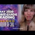 May 2020 Spirit Guide Reading: Give Yourself Permission To Let Go!