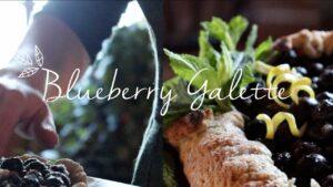 Blueberry Galette    Kitchen Witchery