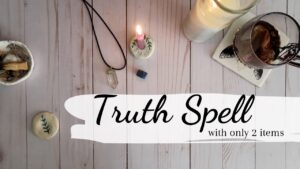 Simple & Effective Truth Spell || Spell work