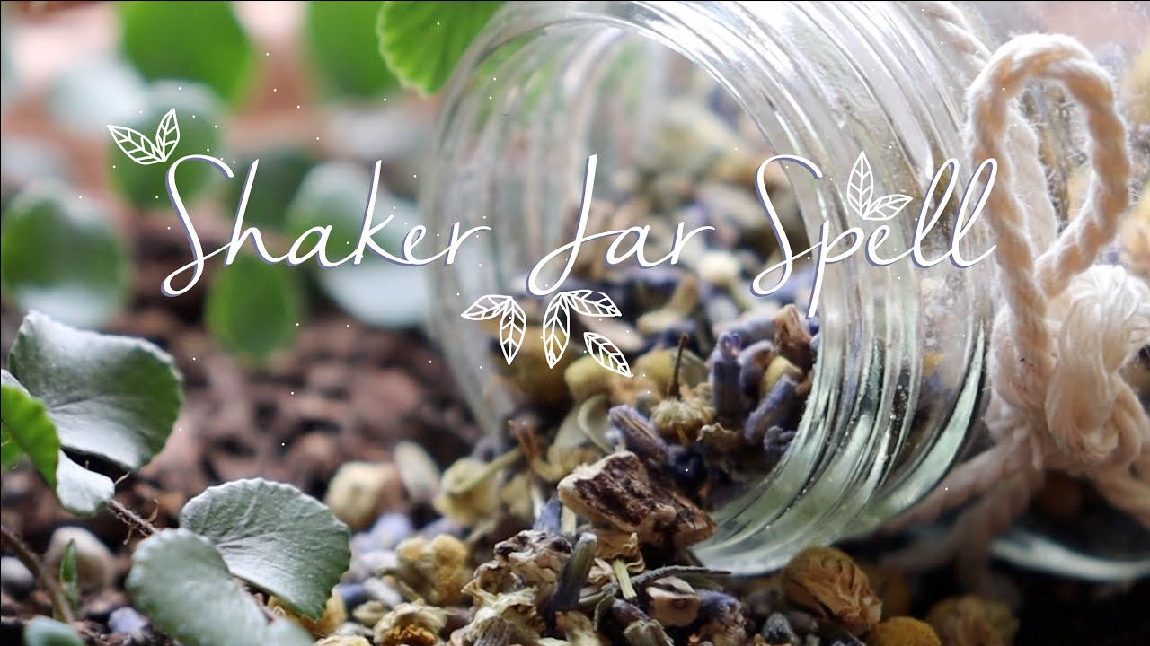 Purification and Home Blessing Shaker Jar Spell