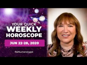 Your Weekly Horoscope For June 22-28, 2020 | All 12 Zodiac Signs
