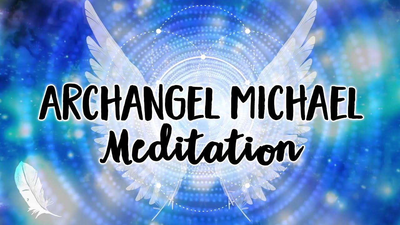 ✨Light & Sound Bath Meditation with Archangel Michael ✨💙😇✨
