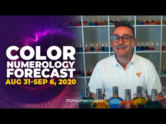 Your Weekly Color Numerology Forecast🎨🔢| August 31 – September 6, 2020