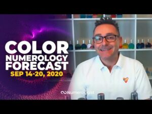 Your Weekly Color Numerology Forecast🎨🔢  September 14-20, 2020