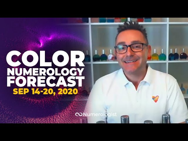 Your Weekly Color Numerology Forecast🎨🔢| September 14-20, 2020