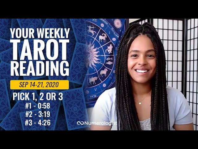 Your Weekly Tarot Reading September 14-21, 2020 | Pick #1, #2 OR #3
