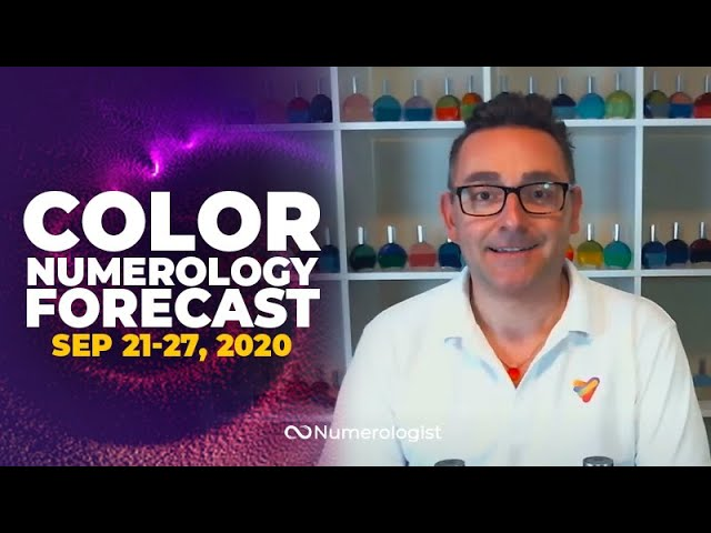 Your Weekly Color Numerology Forecast🎨🔢| September 21-27, 2020