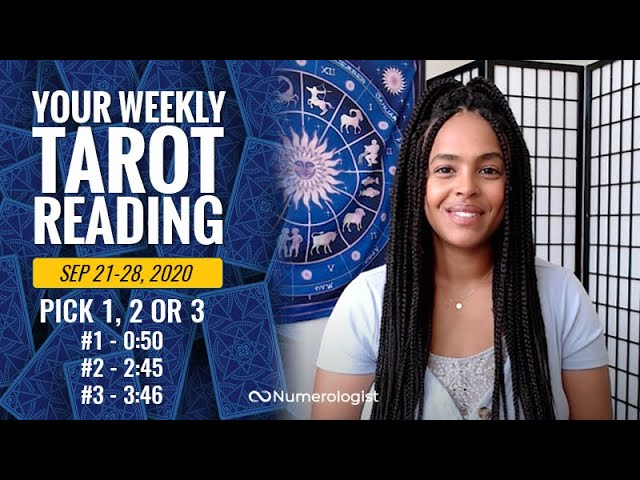 Your Weekly Tarot Reading September 21-28, 2020 | Pick #1, #2 OR #3
