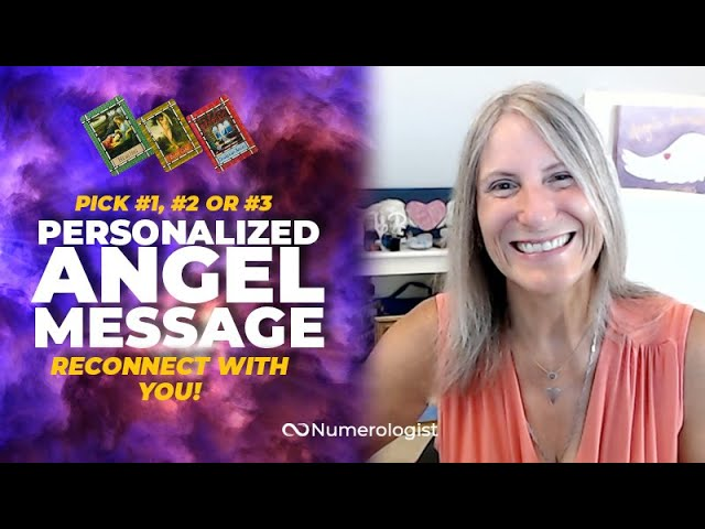 Angel Message 😇 Reconnect With You! (Personalized Angel Card Reading)