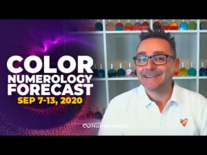 Your Weekly Color Numerology Forecast🎨🔢| September 7-13, 2020