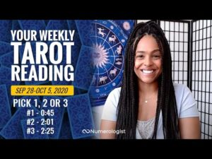 Your Weekly Tarot Reading September 28-October 4, 2020 | Pick #1, #2 OR #3