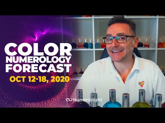 Your Weekly Color Numerology Forecast🎨🔢| October 12-18, 2020 (Release & New Beginnings)