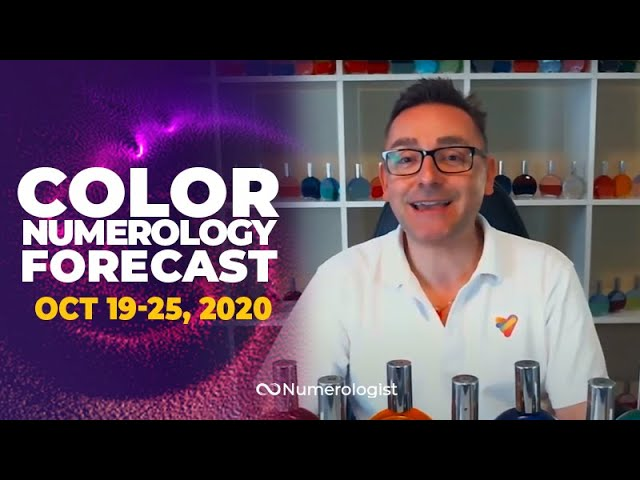 Your Weekly Color Numerology Forecast🎨🔢| October 19-25, 2020 (Take The 1st Step)