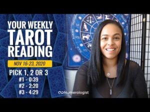 Your Weekly Tarot Reading November 16-23, 2020 | Pick #1, #2 OR #3