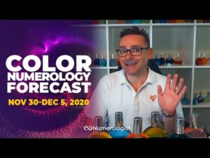 Your Weekly Color Numerology Forecast🎨🔢| November 30-December 5, 2020