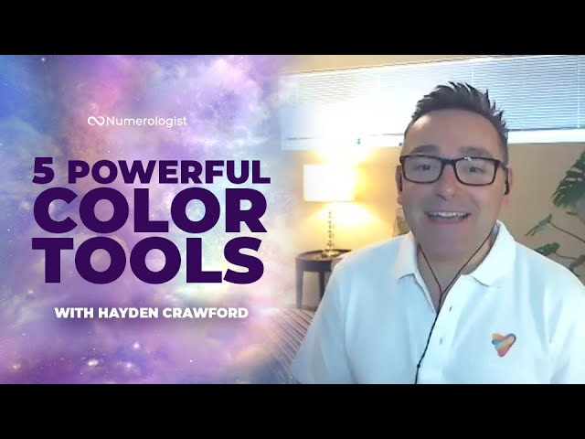 5 Colorful Tools Hayden Crawford Uses Everyday To Boost His Vibration