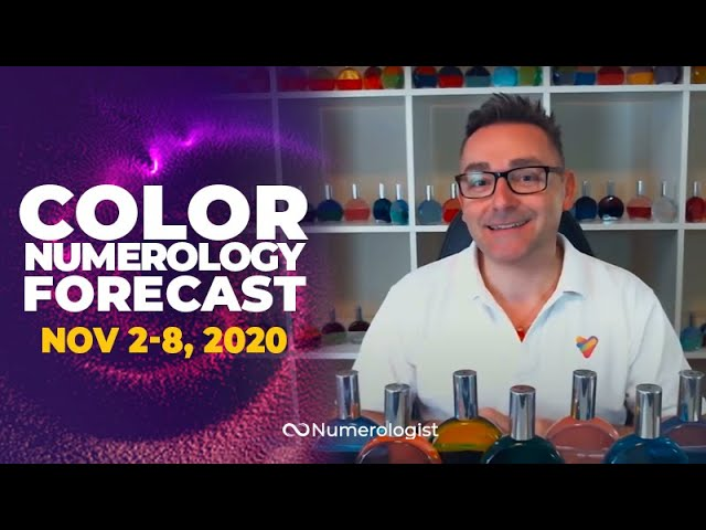 Your Weekly Color Numerology Forecast🎨🔢| November 2-8, 2020 (Regain Your Power)