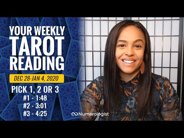 Your Weekly Tarot Reading December 28, 2020-January 4, 2021 | Pick A Card – #1, #2 OR #3