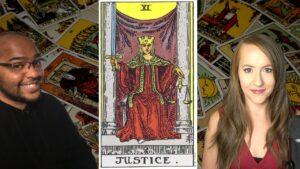 The JUSTICE Card & LIBRA! Major Arcana & The Zodiac with Raphael!