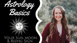 Your SUN, MOON & RISING SIGN! Astrology Basics with Heather!