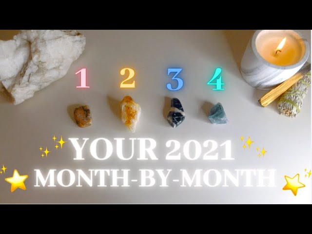 Your 2021 Month by Month – Collaboration with Jupiter Sun!