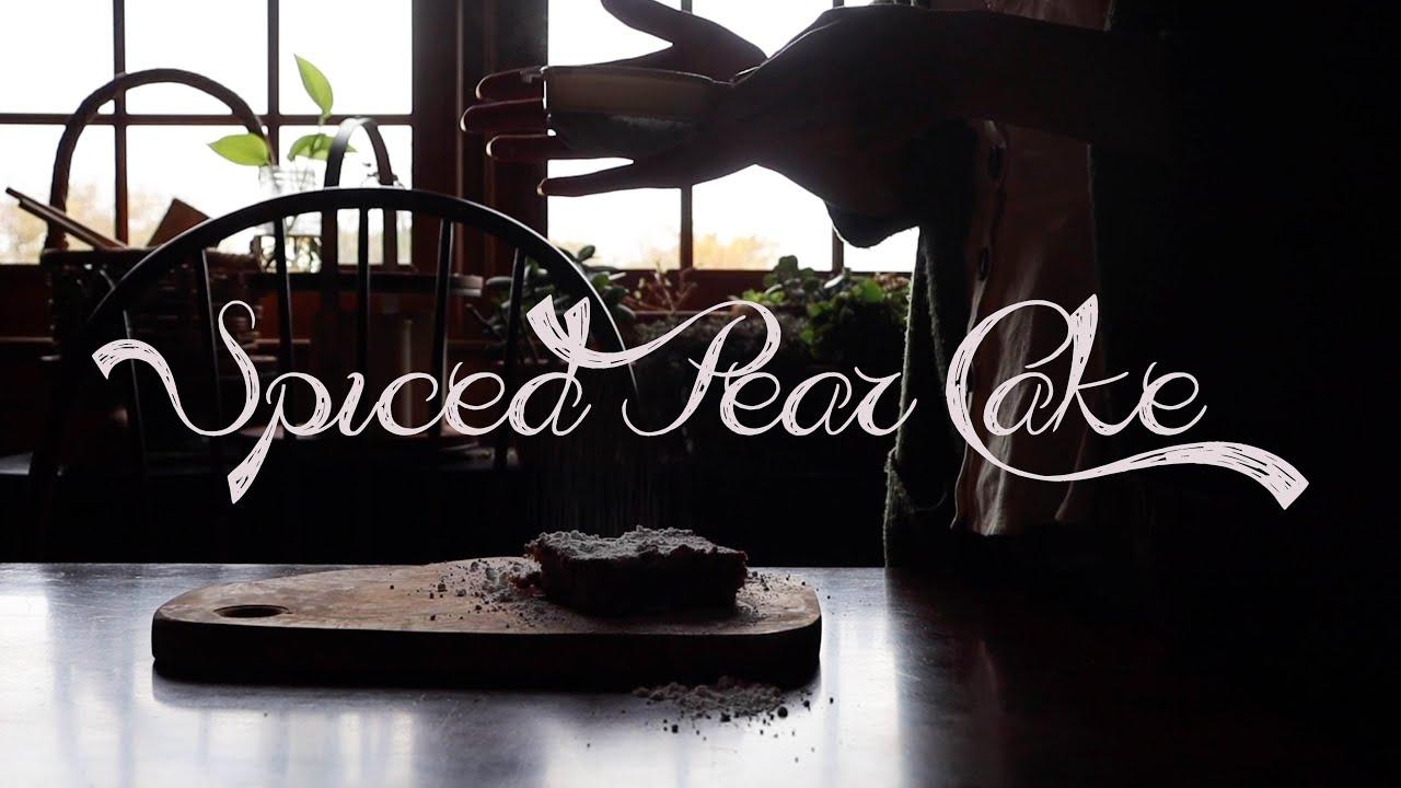 Spiced Pear Cake|| Samhain Recipe || Kitchen Witchery