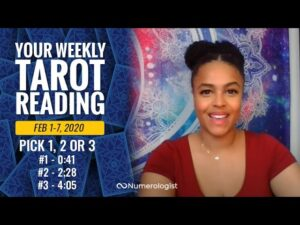 Your Personalized Weekly Tarot Reading 1-7 FEB, 2021