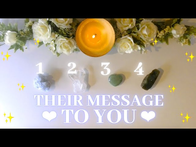 MESSAGES FROM YOUR PERSON – Timeless Tarot Love Reading
